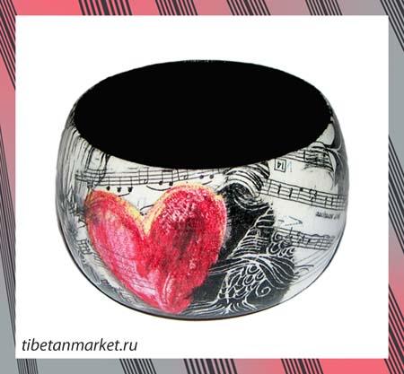 Браслет Музыка сердца